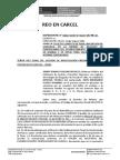 Solicito Inscripccion de Sentencia Jhon Flores Huaman