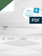 Instrucciones de Uso Placa Bosch