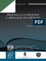 Defensa a la defensa y abogacía en México.pdf