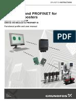 Grundfos Hidro - Comunicação Profinet - Comprensado