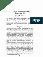 G. Sumner, Philippicus, Anastasius 3