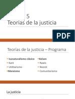 Breve presentación sobre Teoría de la Justicia del Iusnaturalismo, Kelsen y Marx
