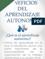 Beneficios Del Aprendizaje Autonomo