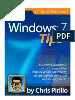 Windows 7 Tips eBook