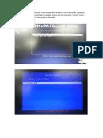 Procedimento Instalação Ubuntu