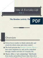 Felson-s Crime & Everyday Life