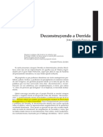 Deconstruyendo a Derrida