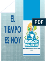 Programa de Segregacion en La Fuente