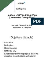 Mapas Cartas Plantas