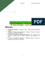 Mechanical Vibration I