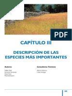 Descripción de Pastos, Especies Mas Importantes (INIA)