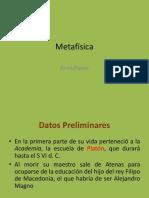 METAFISICA ARISTOTÉLICA