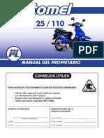Manual Motomel Blitz