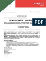 Roco - Constancia Salud Rimac - 01.03.18 Sl 31.12.18 Act Al 07.04.18