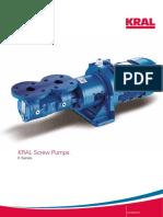 KRAL Screw Pumps. K Series 1
