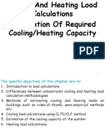 3-Cooling And Heating Load Calculations  ppt | Hvac | Heat Transfer