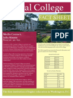 Central College Fact Sheet