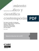 Pensamiento Filosófico y Científico Contemporáneo_Portada