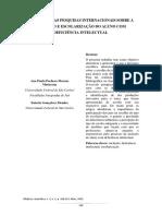 o Cenário Das Pesquisas Internacionais Sobre a Inclusão e Escolarização Do Aluno Com Deficiência Intelectual