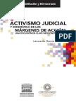 Activismo Judicial y Dogmática de Los Margenes de Acción
