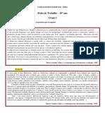 Ficha de Trabalho VI Regência - ANEXO II