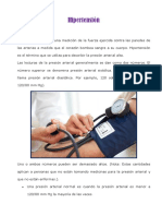 Hipertension y Diabetes