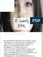 Ppt Anorexia