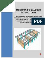 MEMORIA DE CALCULO DE ESTRUCTURAS COLEGIO DULCE MARIA.docx