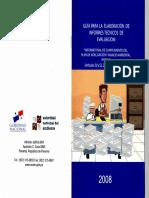 Guia Para La Elaboracion de Informe Final de PAMA