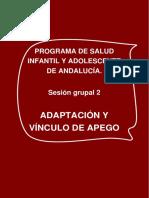 Sesion Grupal 02 Apego
