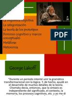 13 Metáforas de Lakoff