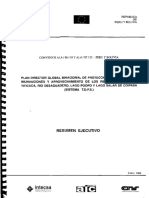 Plan Director - Resumen Ejecutivo