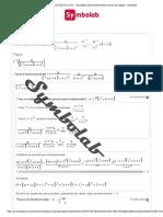 laplace (10)_((s^2+2s+4)(s+1)^2) - Calculadora para transformadas inversas de Laplace - Symbolab