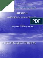 Unidad 4 Aplicacion de Los Materiales
