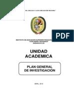 Plan General de Investigación 2018