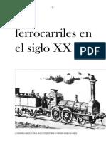 Los Ferrocarriles en El Siglo XX