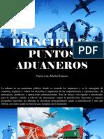 Carlos Luis Michel Fumero - Principales Puntos Aduaneros