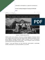 Sistem Informasi Akademik Di Universitas Lambung Mangkurat