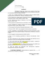 Affidavit Psychiatrist 543