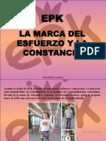 Alexandra Azpúrua - EPK, La Marca Del Esfuerzo y La Constancia