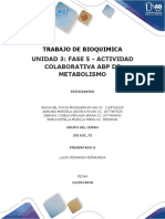 Unidad 3 Fase 5 Bioquimica
