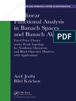 Nonlinear Functional Analysis in Banach Space