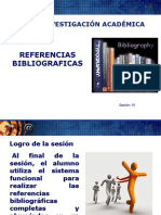 Sesion 10 Referencias Bibliograficas