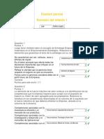 Gerencia FinancieraExamen Parcial
