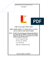 Bài Tập Tiểu Luận Điều Khiển ĐTCS Và Ứng Dung Trong HTĐ- Nguyen Đức Hạnh
