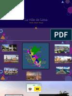 Presentation de Lima