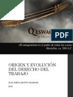 Origen y Evolución DdT 06.03.18