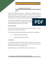 Internship_Report on NBP by Jehanzeb Memon IMSA BBA 18