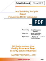Mtbf Report Xrn 410s