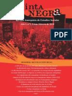 Tinta Negra, n°1, Revolución rusa